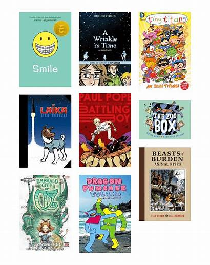 Graphic Novels Award Winning Bibliocommons Library