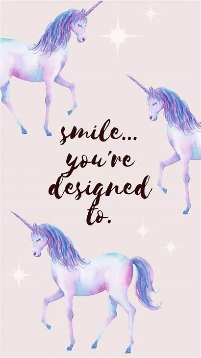 Unicorn Desktop Wallpapers Iphone Mobile Unicorns Smile