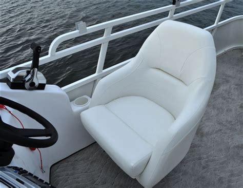 Reupholster Boat Captains Chair by Research 2011 Bentley Pontoon Boats 250 Elite Encore