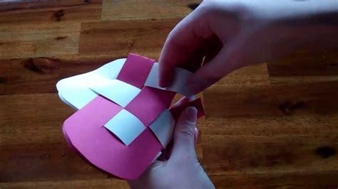 valentines day craft idea     heart basket