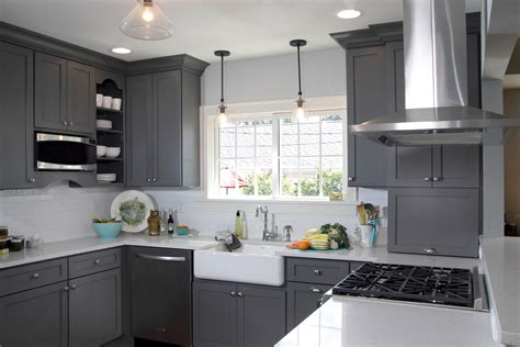 gray   classic timeless cabinet color