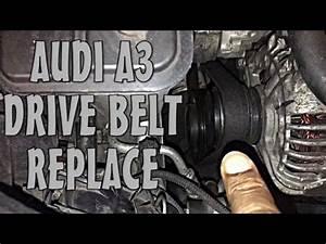 Location Audi A3 : audi a3 drive belt replace check inspect works on other vag group cars vw seat skoda youtube ~ Medecine-chirurgie-esthetiques.com Avis de Voitures