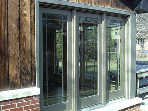 3 panel patio doors