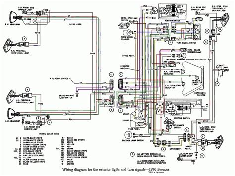 Ford Bronco Wiring Diagram Lighting Forums