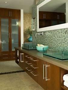 Piastrelle mosaico in bagno (Foto) Design Mag