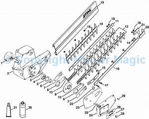Stihl Hs80 Hedge Trimmer Parts Diagram