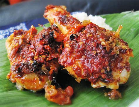 indonesian food ayam bumbu bali balinese spicy roasted
