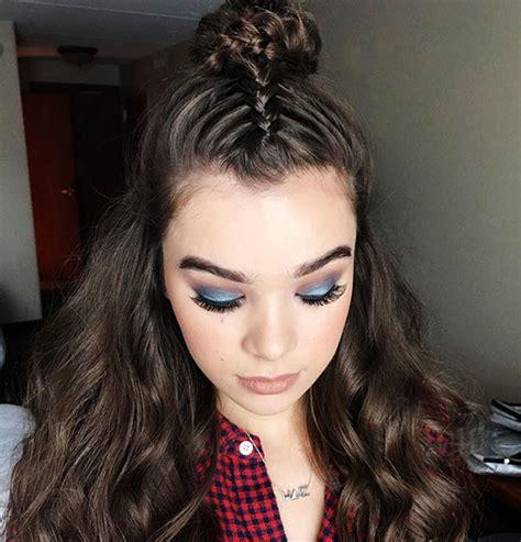 braided top knots la tendencia de peinados ideal
