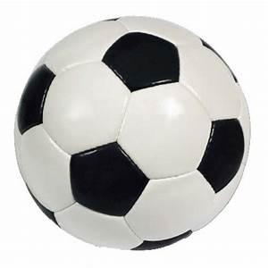 Stickers Sport décoration ballon foot blanc et noir