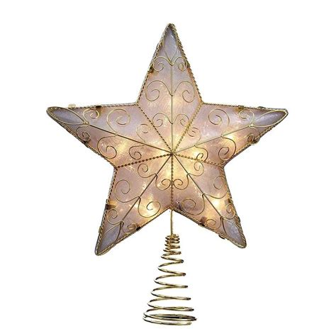 christmas stars gold tree toppers christmas wikii