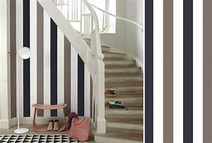 papier peint pour cage escalier meilleures images d With awesome couleur pour une cage d escalier 6 renovation escalier la meilleure idee deco escalier en un