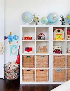 Rangement Jouet Ikea : l 39 tag re ikea kallax avec 8 casiers deco meuble ~ Melissatoandfro.com Idées de Décoration