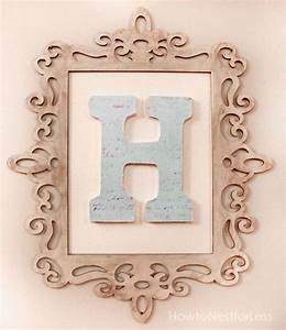 initials wall decor and wall decor frames on pinterest With wooden monogram letters michaels