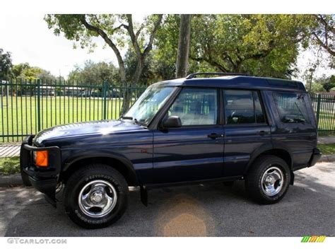 blue land rover discovery oxford blue 2000 land rover discovery ii standard