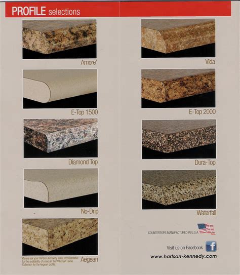 Laminate Countertop Edge Styles by Interesting Wilsonart Laminate Countertops Style Rite
