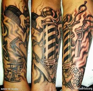 Best Barber Shop Themed Tattoo's | Hair News Network ...