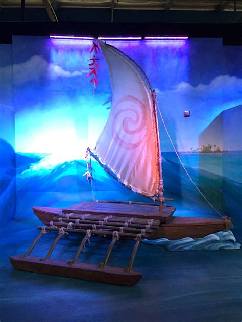 Moana Clipart Boat by A Behind The Scenes Look At Disney S Moana Brite And Bubbly