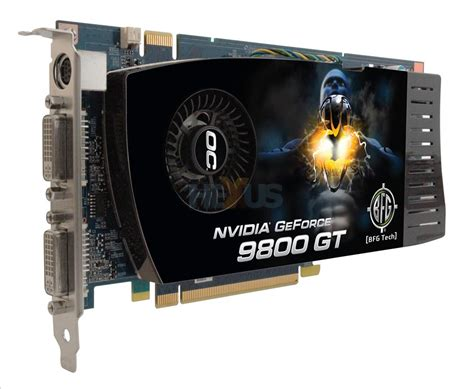 BFG (NVIDIA) GeForce 9800 GT: what's in a name? - Graphics ...