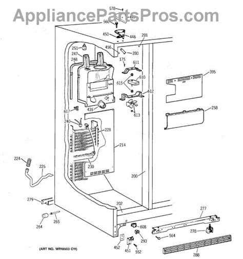 Wire Schematic For Kenmore Upright Freezer by Ge Wr40x1742 Breaker Top Freezer