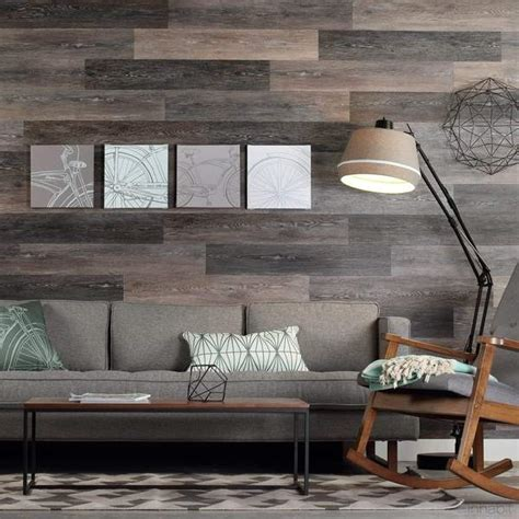 gray washed oak peel  stick wall planks inhabit