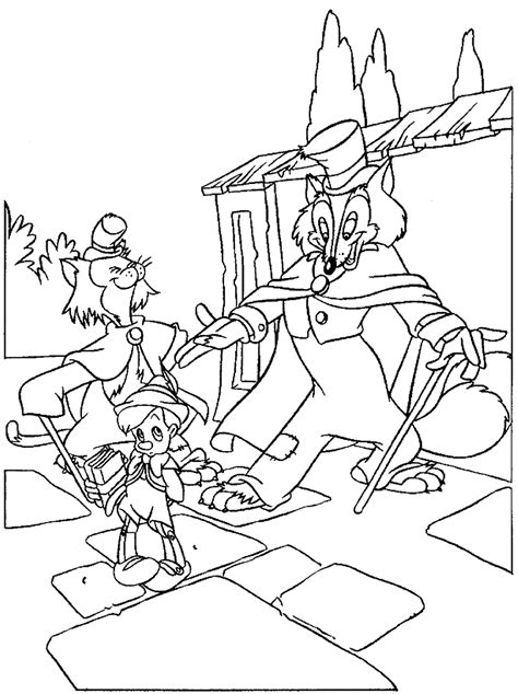 Coloring Foto by Pinocchio Coloring Pages