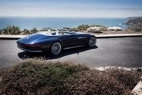 Vision Mercedes-maybach 6 Cabriolet Is A Showstopper At