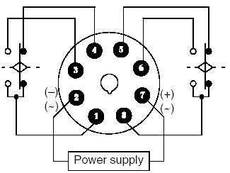 8 Pin Relay Configuration Diagram by Omron Timer Relay Battery Driven Fuel All