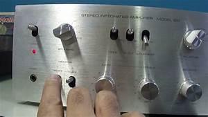 O Rei Do Som - Amplificador Gradiente Model 120