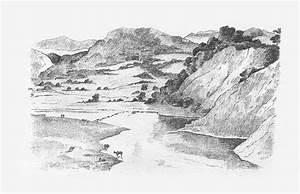 mountain landscape drawing | Art & Drawing | Pinterest