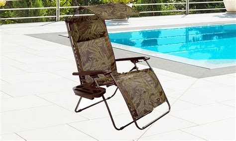 50 on bliss deluxe zero gravity chair groupon goods