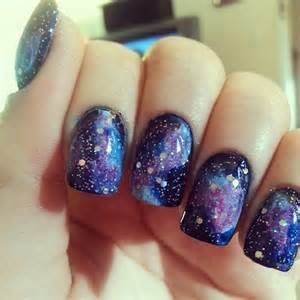 Galaxy nails acrylic purple glitter art cheap pictures to pin on