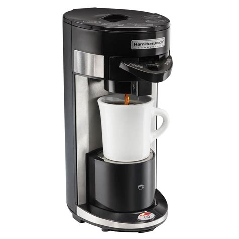 It is small, making it perfect for those with limited space. Hamilton Beach HDC300 FlexBrew Single Serve Coffee Maker ...