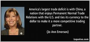 America's largest trade deficit is with China, a nation ...