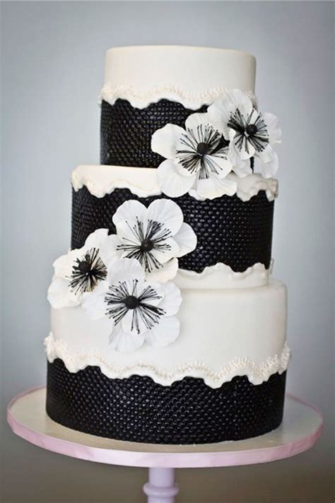 black and white wedding cake design wedding cake cake