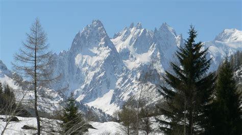 massif du mont blanc t 233 l 233 charger photos massif du mont blanc vers chamonix gratuitement