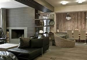 Wohnzimmer Holz Modern : 30 wohnzimmerw nde ideen streichen und modern gestalten ~ Orissabook.com Haus und Dekorationen