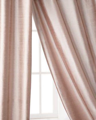 pink silk curtains shopping home