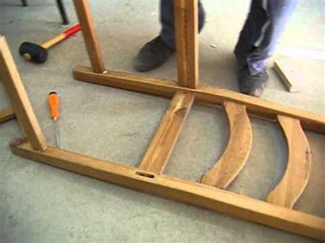renover chaise bois réparation de chaise avec gaë