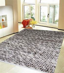tapis gris contemporain photo 6 10 grand et beau tapis With grand tapis gris
