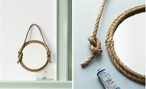 Miroir Rond Corde : mod les de miroirs ronds pour la salle de bain ~ Teatrodelosmanantiales.com Idées de Décoration