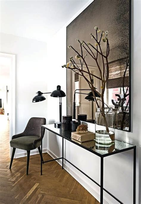 Accent Mirrors Entryway - foyer mirrors and tables contemporary foyer mirrors