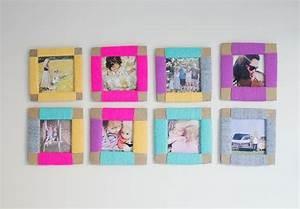 Fotorahmen Selbst Gestalten : bilderrahmen selber machen 22 kreative diy ideen f r die wohnungsdekoration ~ Markanthonyermac.com Haus und Dekorationen