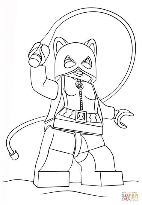 disegno  catwoman lego da colorare disegni da colorare