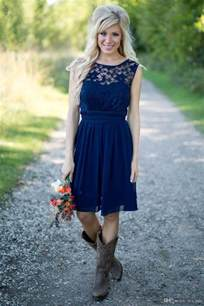 country bridesmaids dresses 17 best ideas about navy blue bridesmaids on blue bridesmaid dresses navy