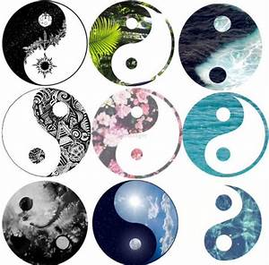 8 Best Images of Floral Yin Yang Tumblr - Transparent ...