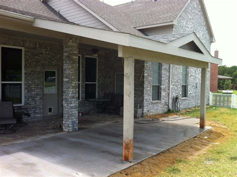 how to paint patio cover painted patio cover roof to gable caddo mills hundt