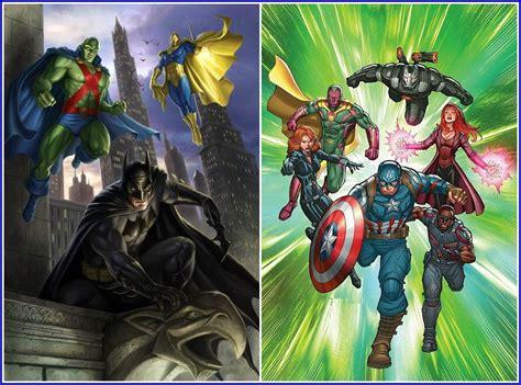 Batman, Martian Manhunter and Doctor Fate vs The Avengers ...