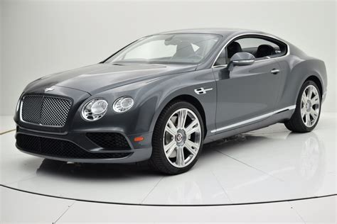 New 2016 Bentley Continental Gt V8 Coupe For Sale