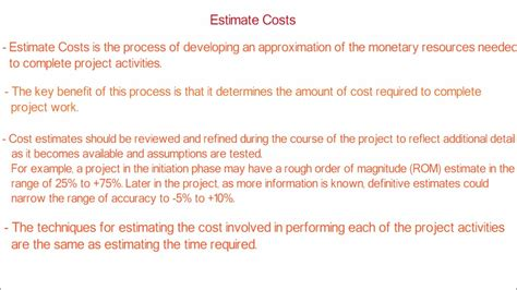 How To Estimate Project Cost With