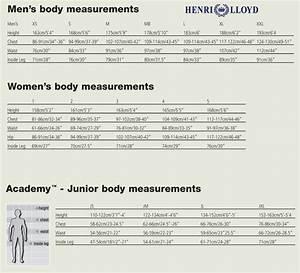 Henri Lloyd Size Chart Team One Newport